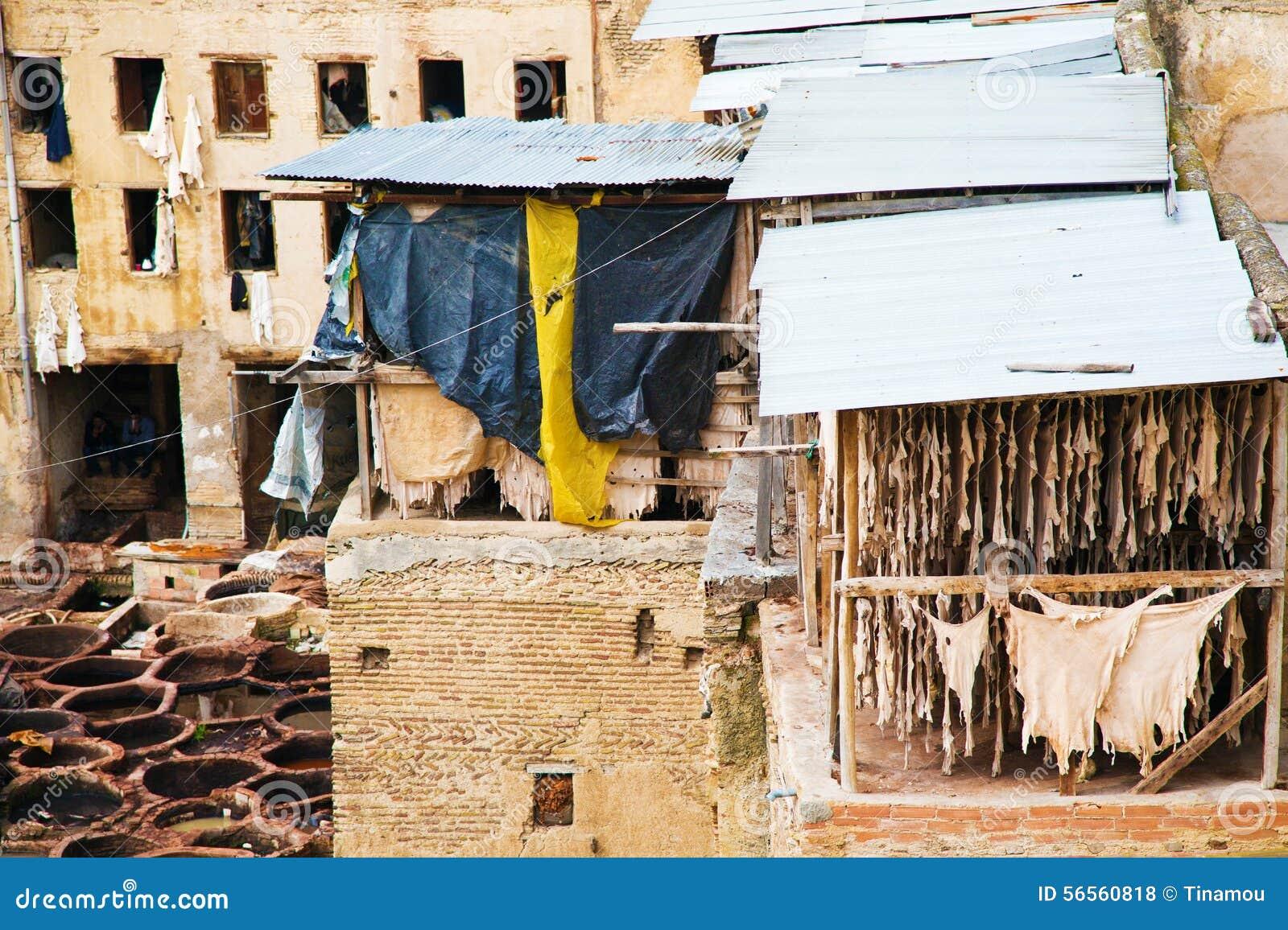 Download Παλαιός φλοιός στο Fez, Μαρόκο Εκδοτική Στοκ Εικόνες - εικόνα από antiquate, αφρικανικά: 56560818