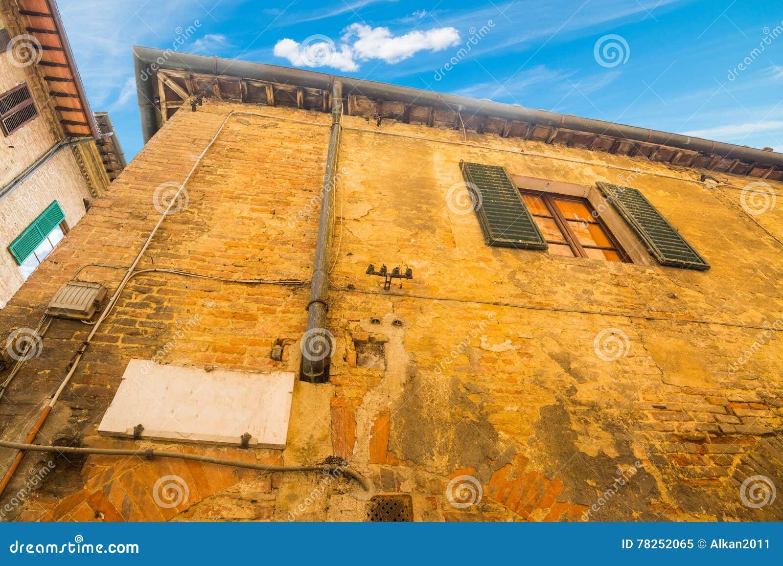 Παλαιό κτήριο στη Σιένα