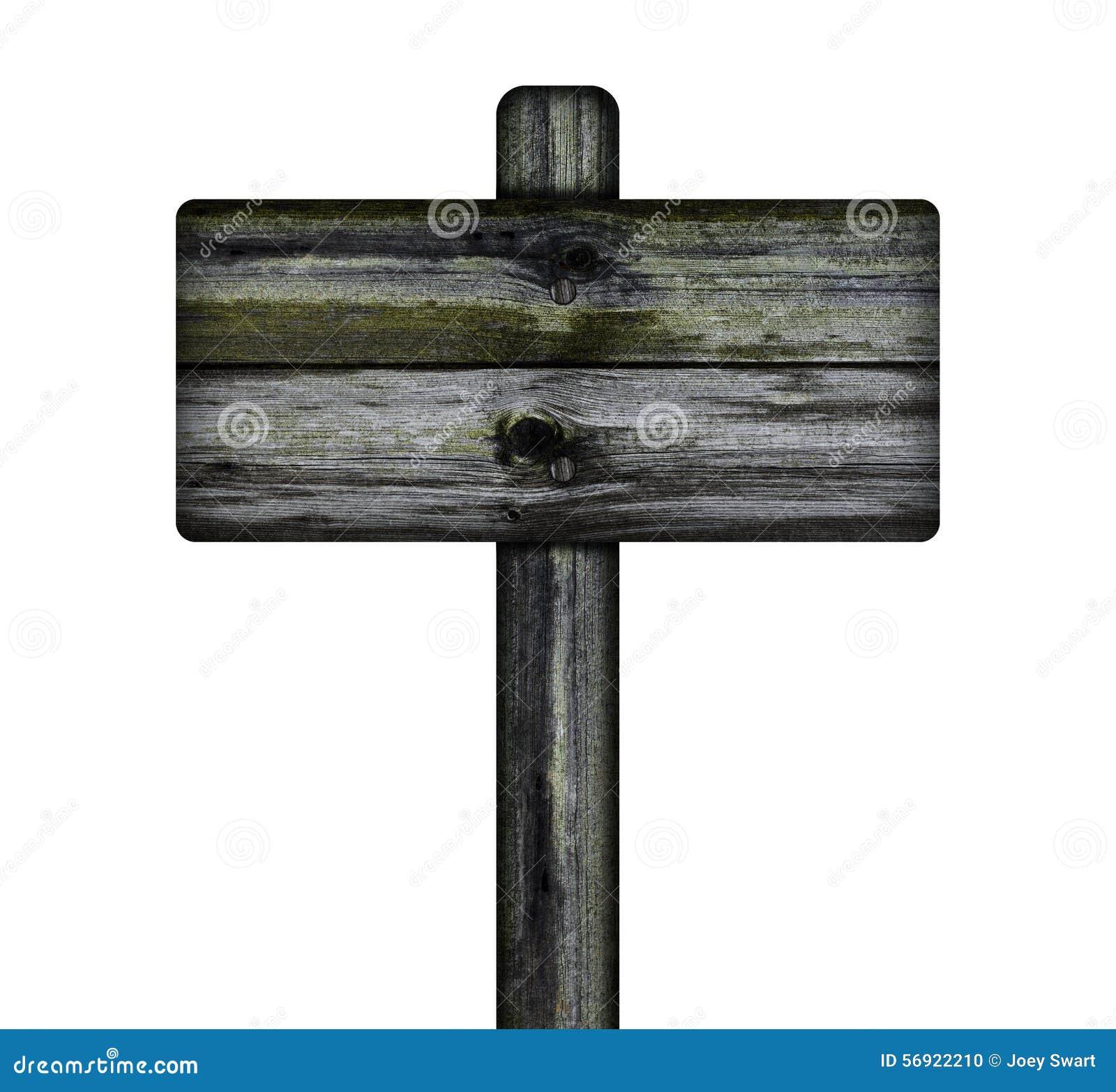 παλαιό σημάδι ξύλινο