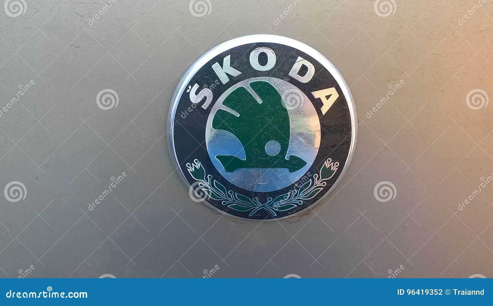 παλαιό skoda λογότυπων