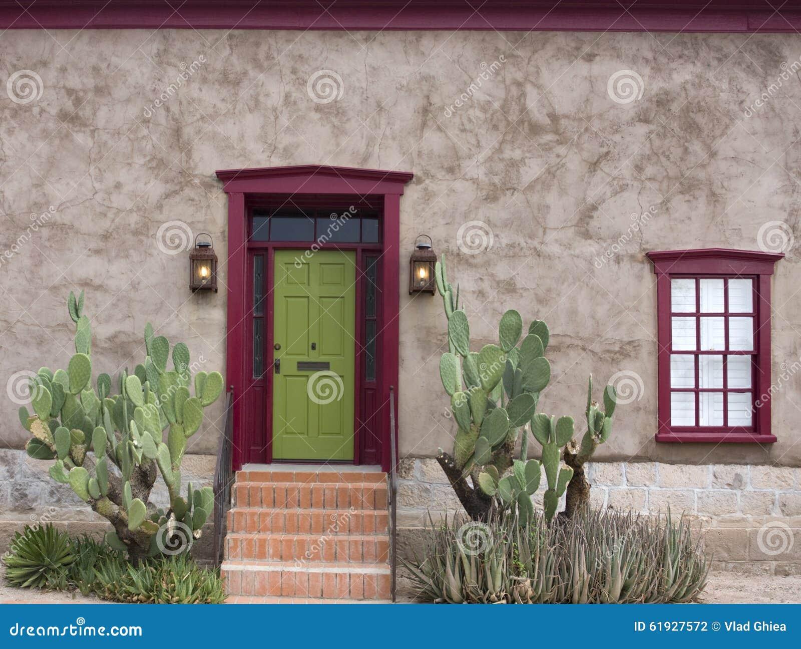 Παλαιό Tucson, είσοδος σπιτιών
