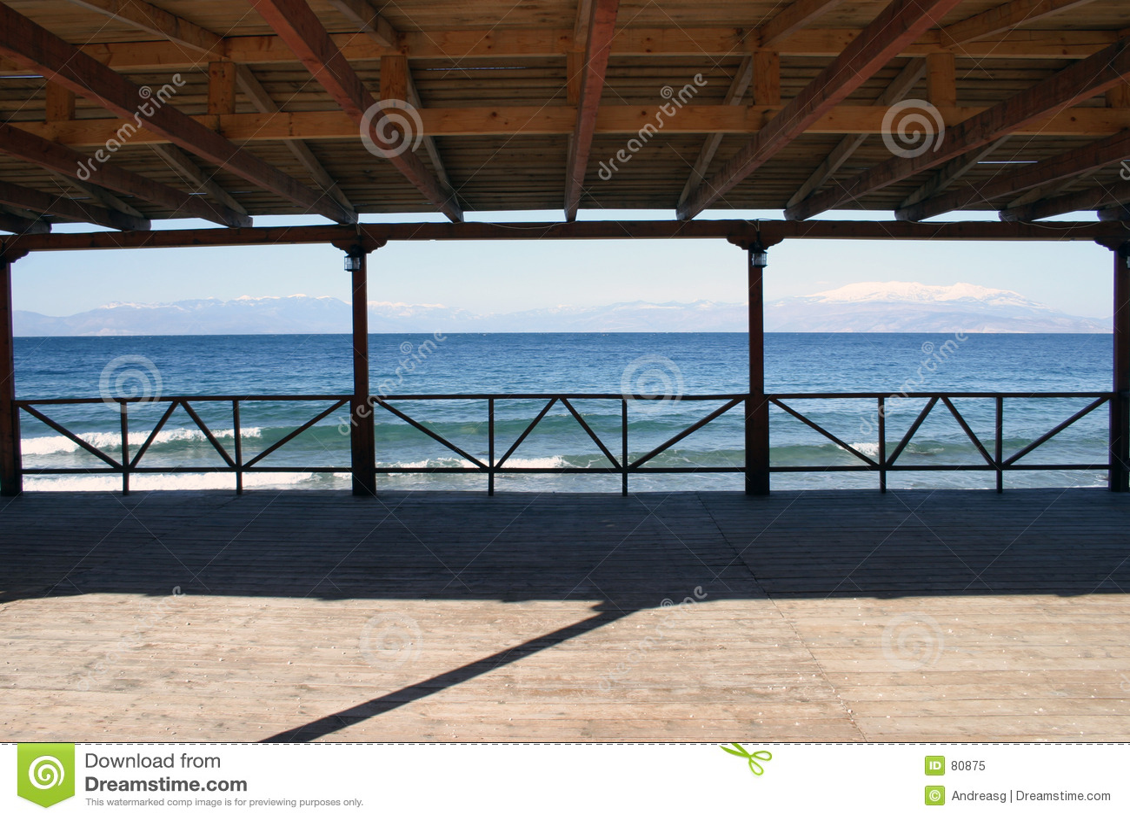 πεζούλι θάλασσας