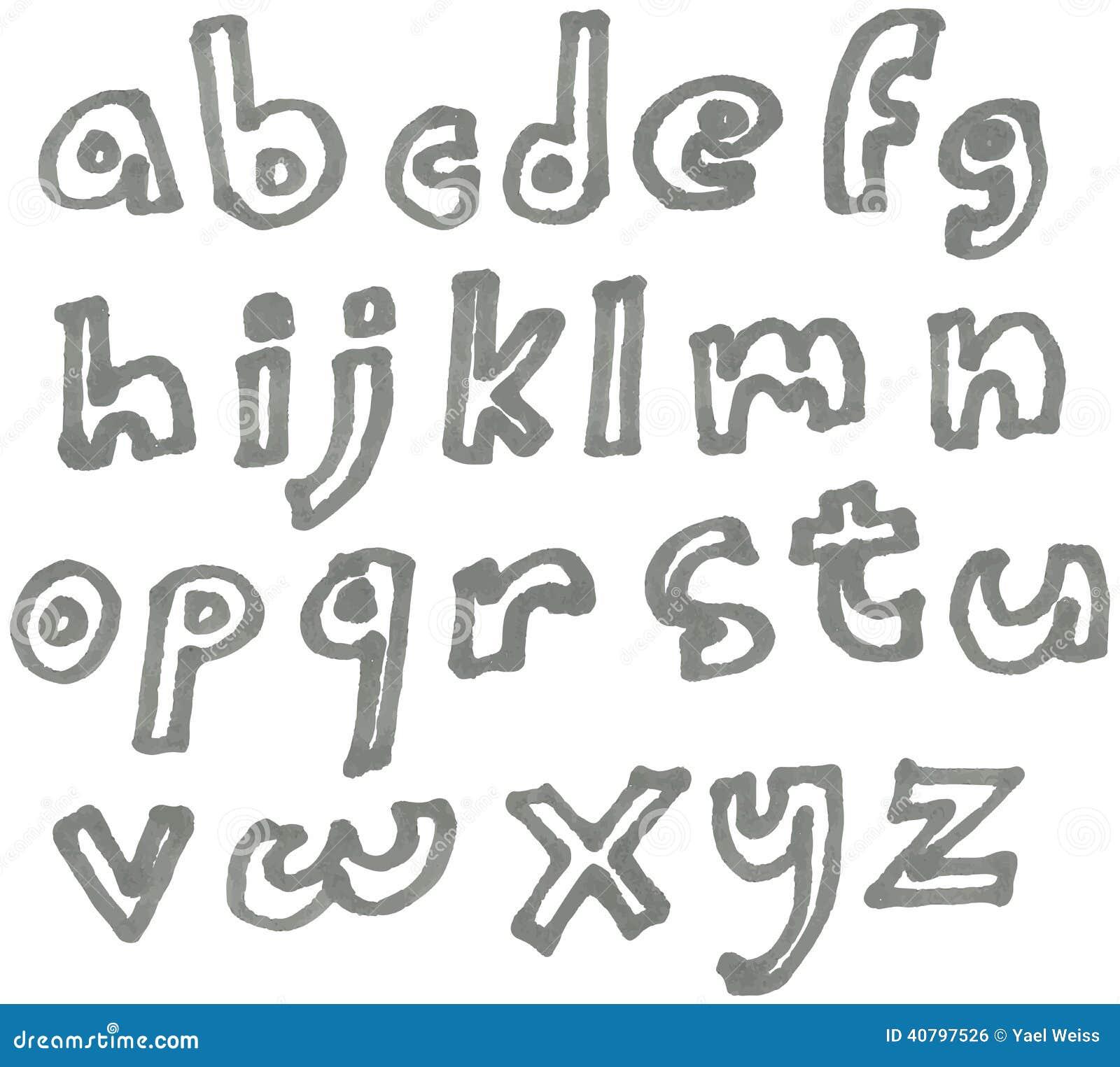 Πεζό αλφάβητο δεικτών