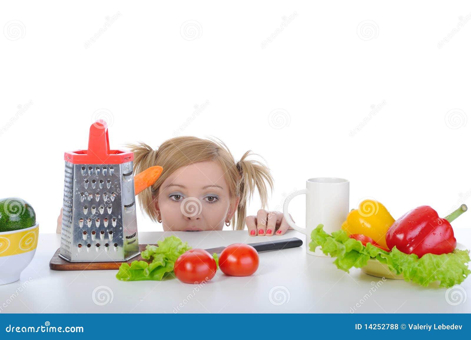 πεινασμένη γυναίκα