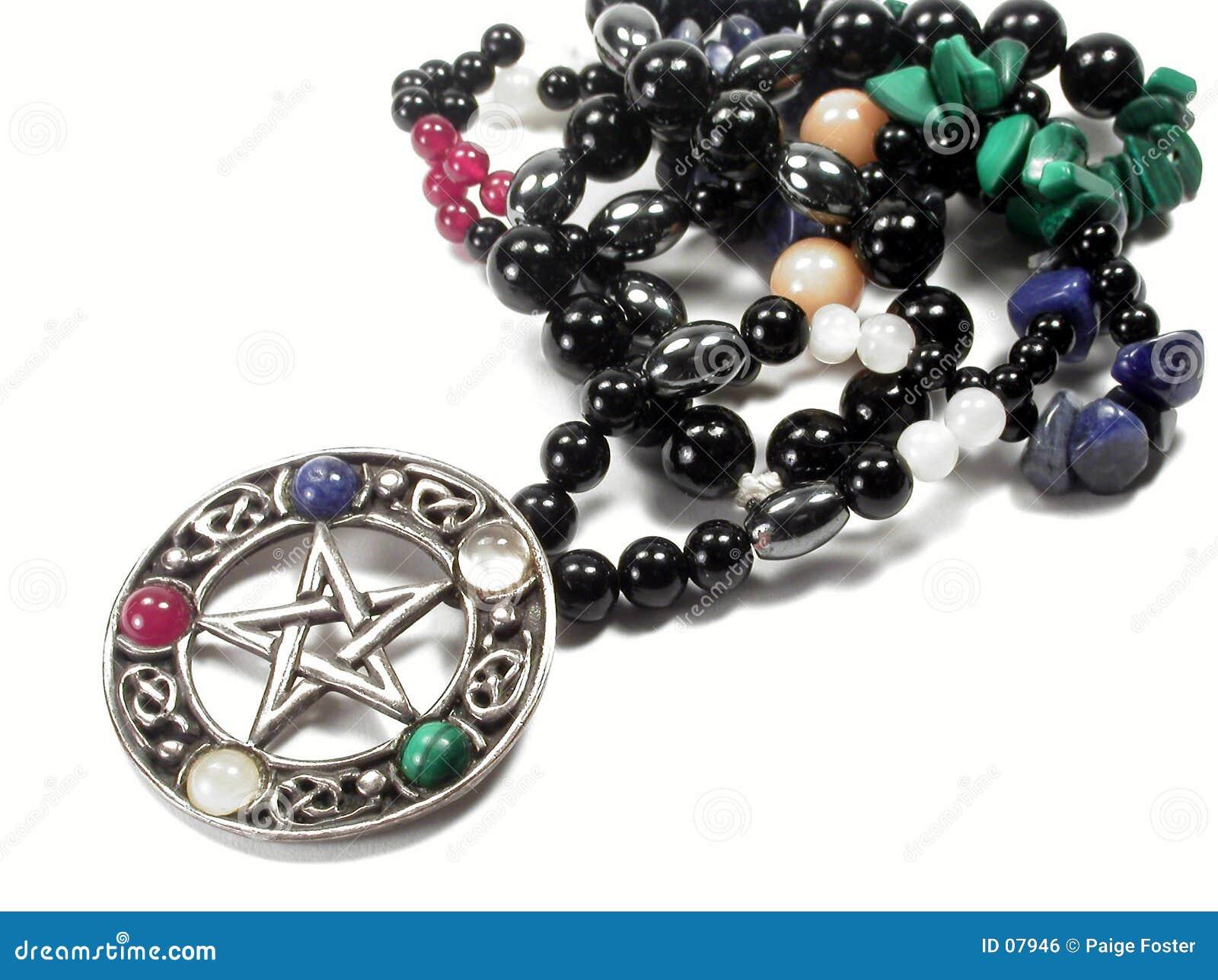 Download πεντάλφα στοκ εικόνες. εικόνα από malachite, περιδέραιο, pentagram - 7946