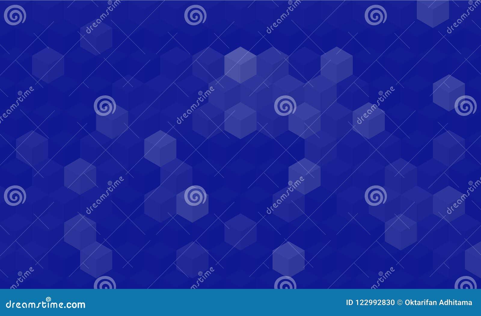 Περίληψη γεωμετρική με το μπλε υπόβαθρο