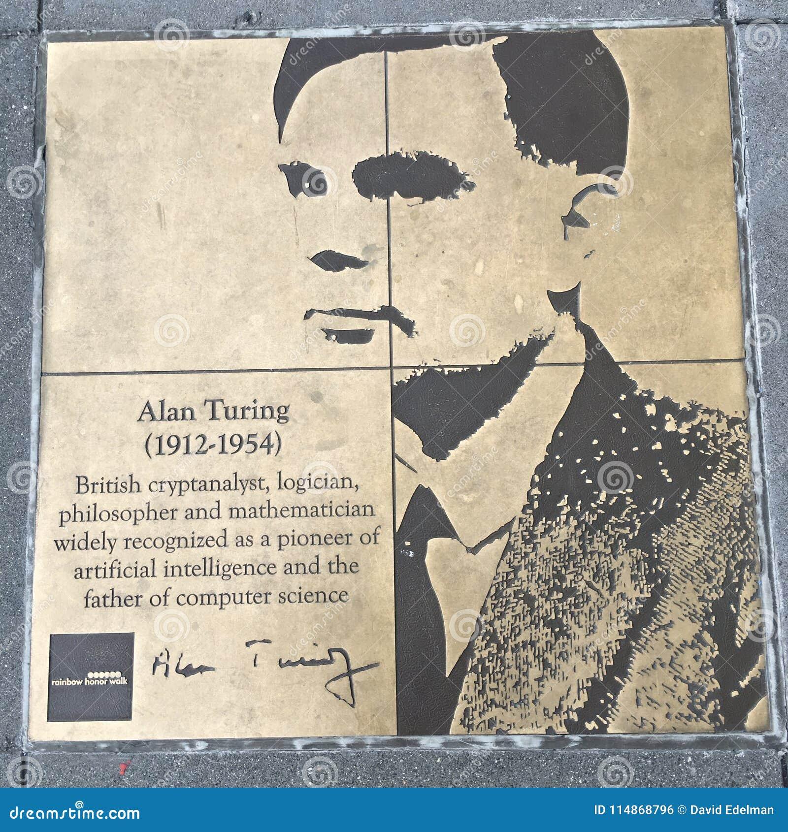 Περίπατος του ομοφυλόφιλου, ο περίπατος τιμής ουράνιων τόξων, Alan Turing