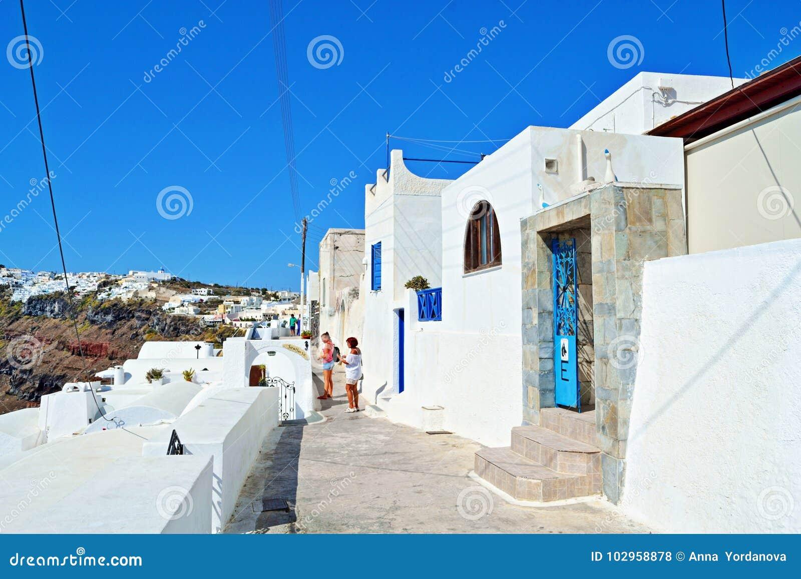 Περίπατος Santorini