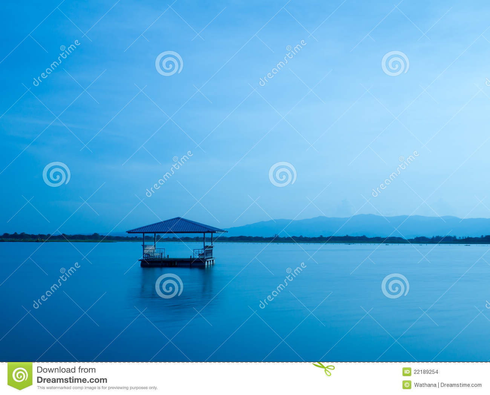 περίπτερο λιμνών