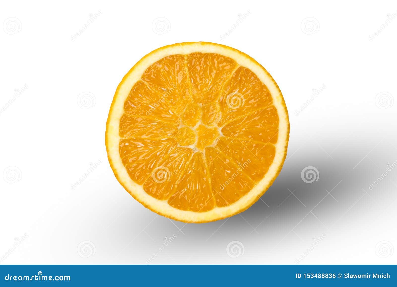 Περικοπή στο μισό πορτοκάλι