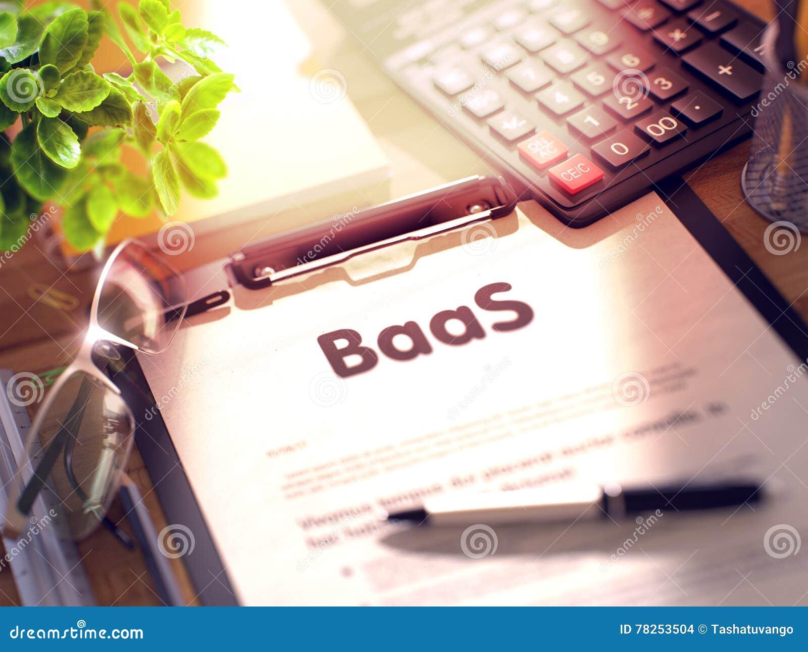 Περιοχή αποκομμάτων με BaaS τρισδιάστατος