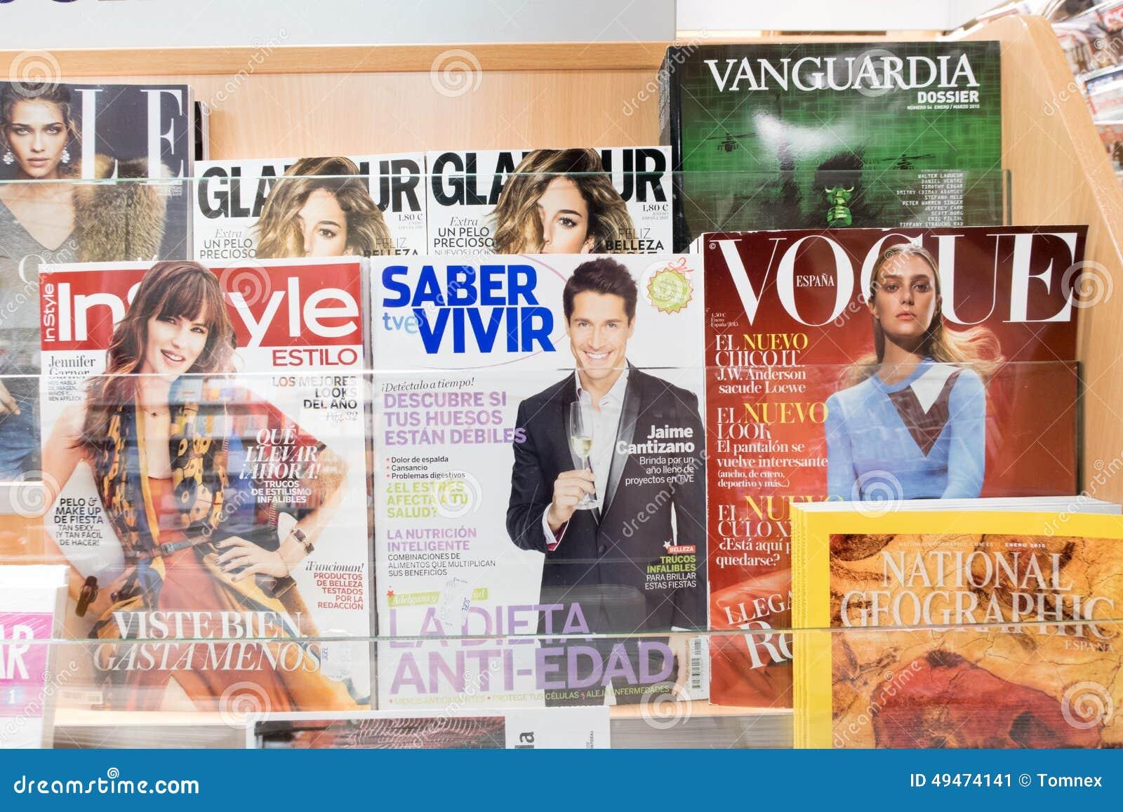 Περιοδικά στην Ισπανία