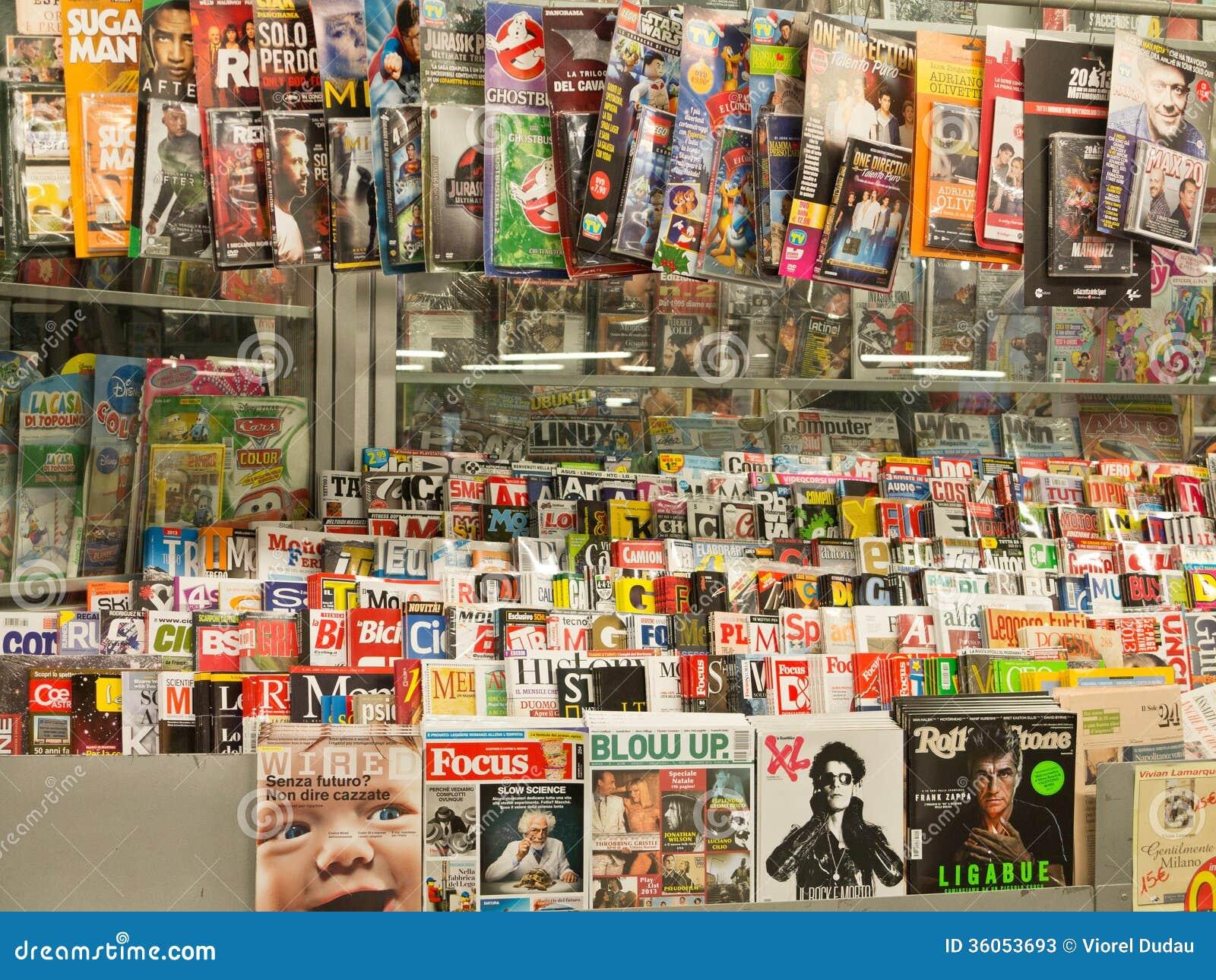 Περιοδικά στη στάση Τύπου