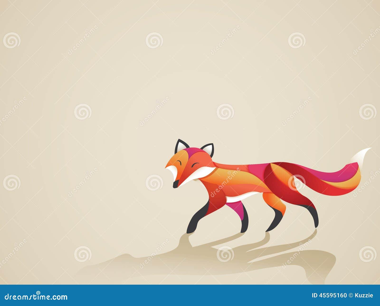 Περπατώντας δονούμενη αλεπού