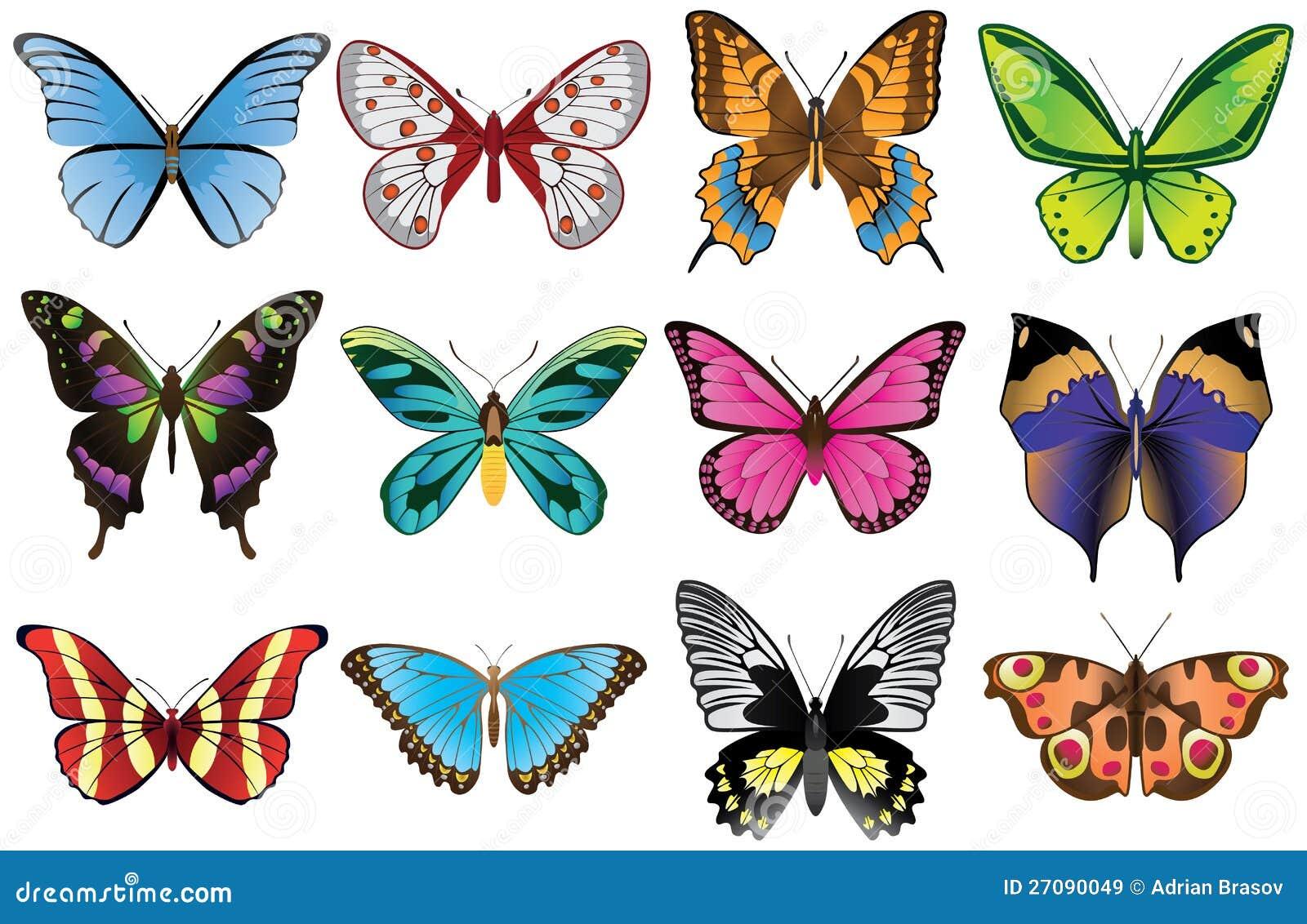 Πεταλούδες που τίθενται