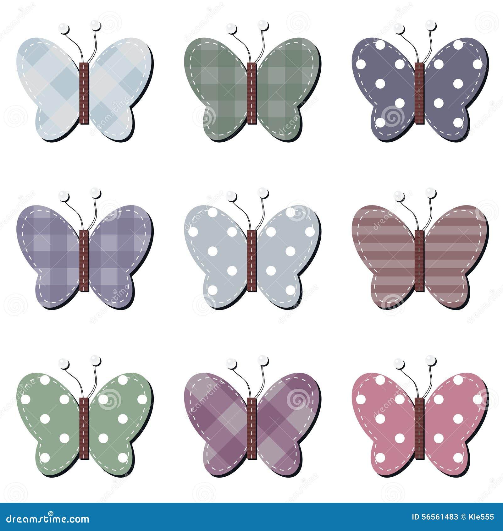 Download Πεταλούδες λευκώματος αποκομμάτων στο λευκό Απεικόνιση αποθεμάτων - εικονογραφία από έξυπνο, φτερό: 56561483