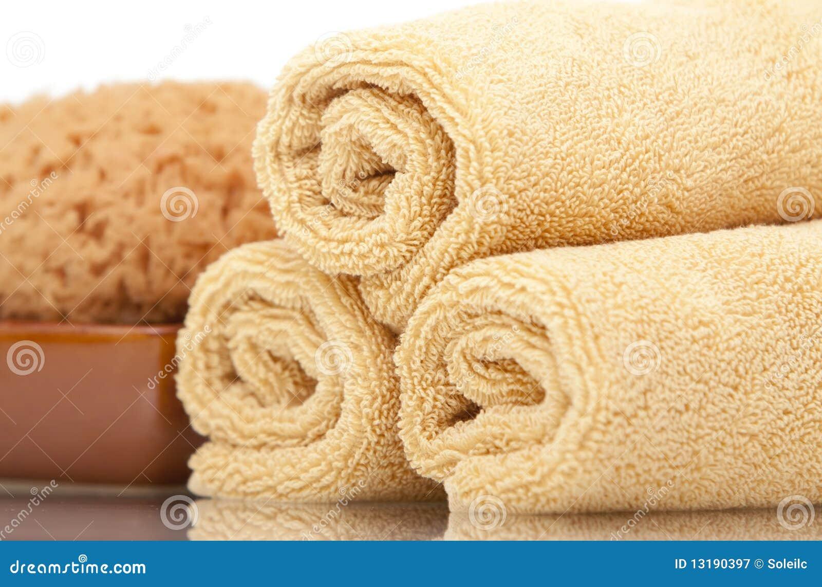πετσέτες σφουγγαριών SPA