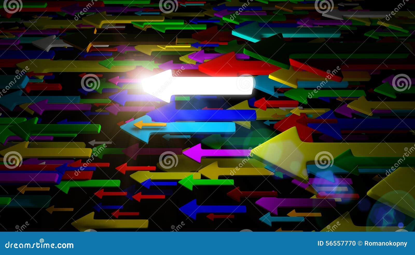 Download Πετώντας βέλη απεικόνιση αποθεμάτων. εικονογραφία από διαστατικός - 56557770