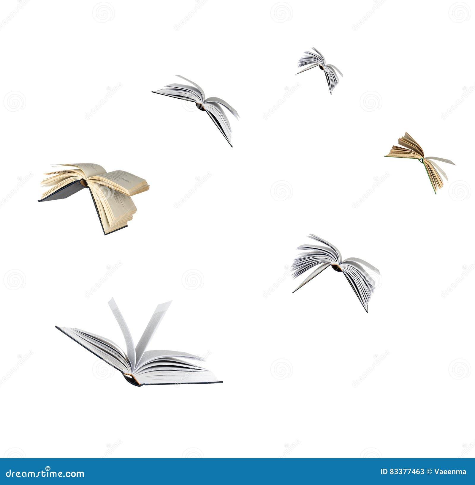 Πετώντας βιβλία
