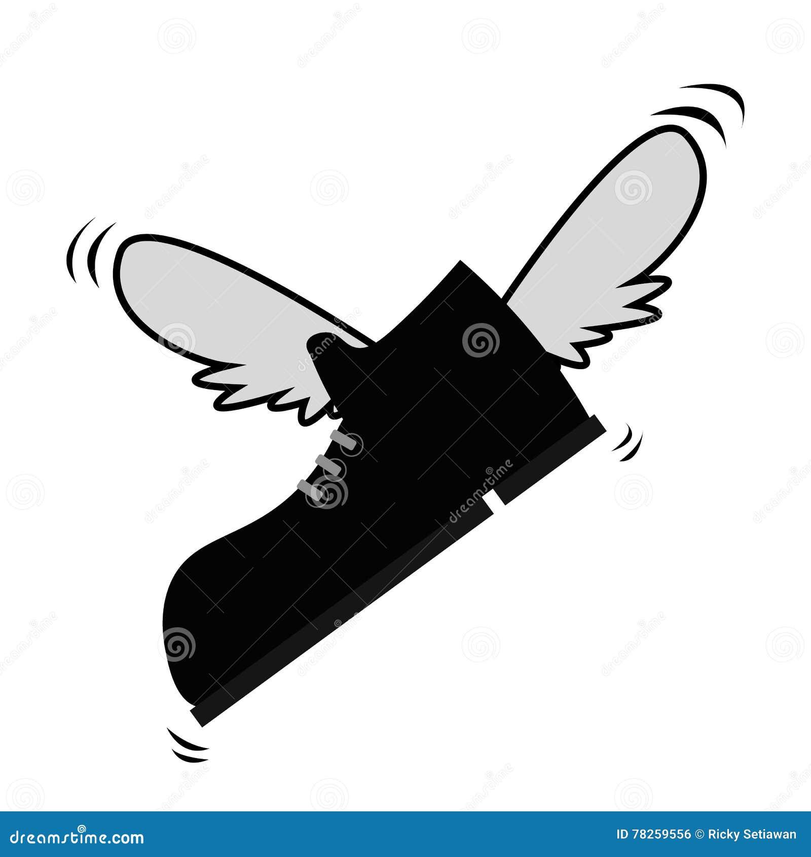 Πετώντας παπούτσι