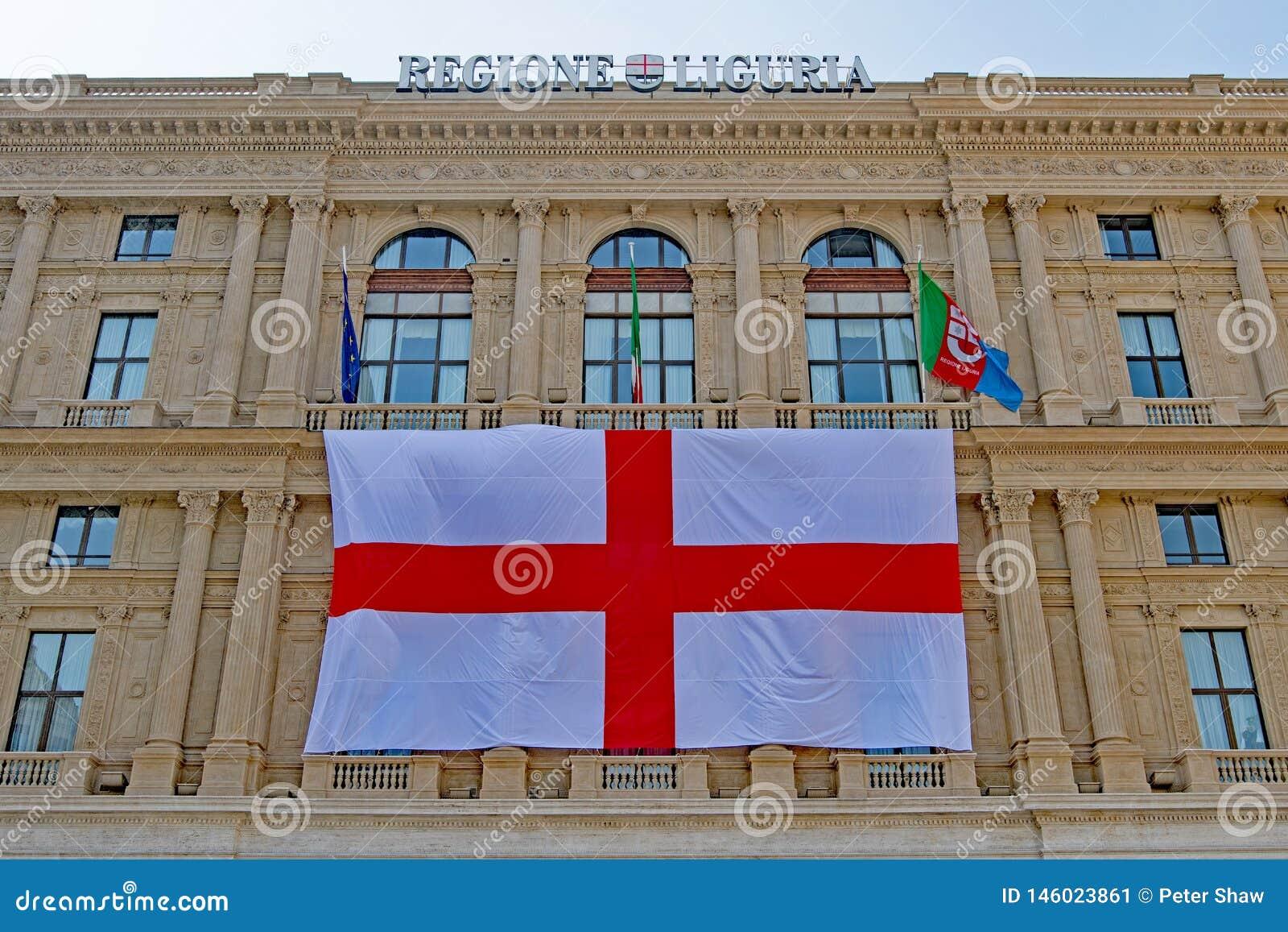 Πετώντας τη Γένοβα σημαιοστολίστε 1, Regione Λιγυρία, Ιταλία