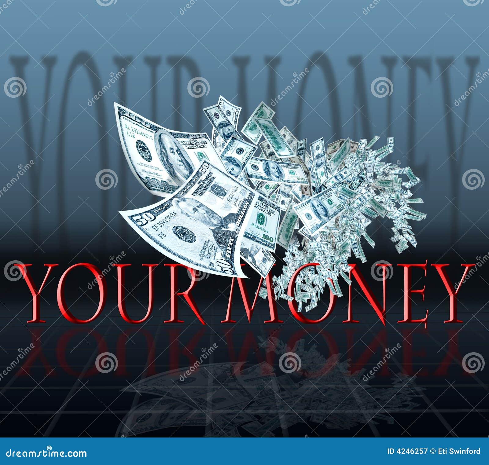 πετώντας χρήματα
