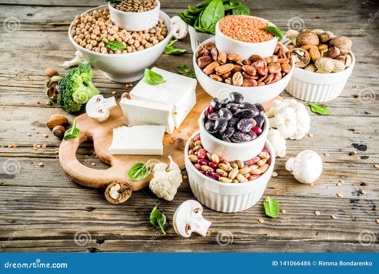Πηγές πρωτεΐνης εγκαταστάσεων Vegan