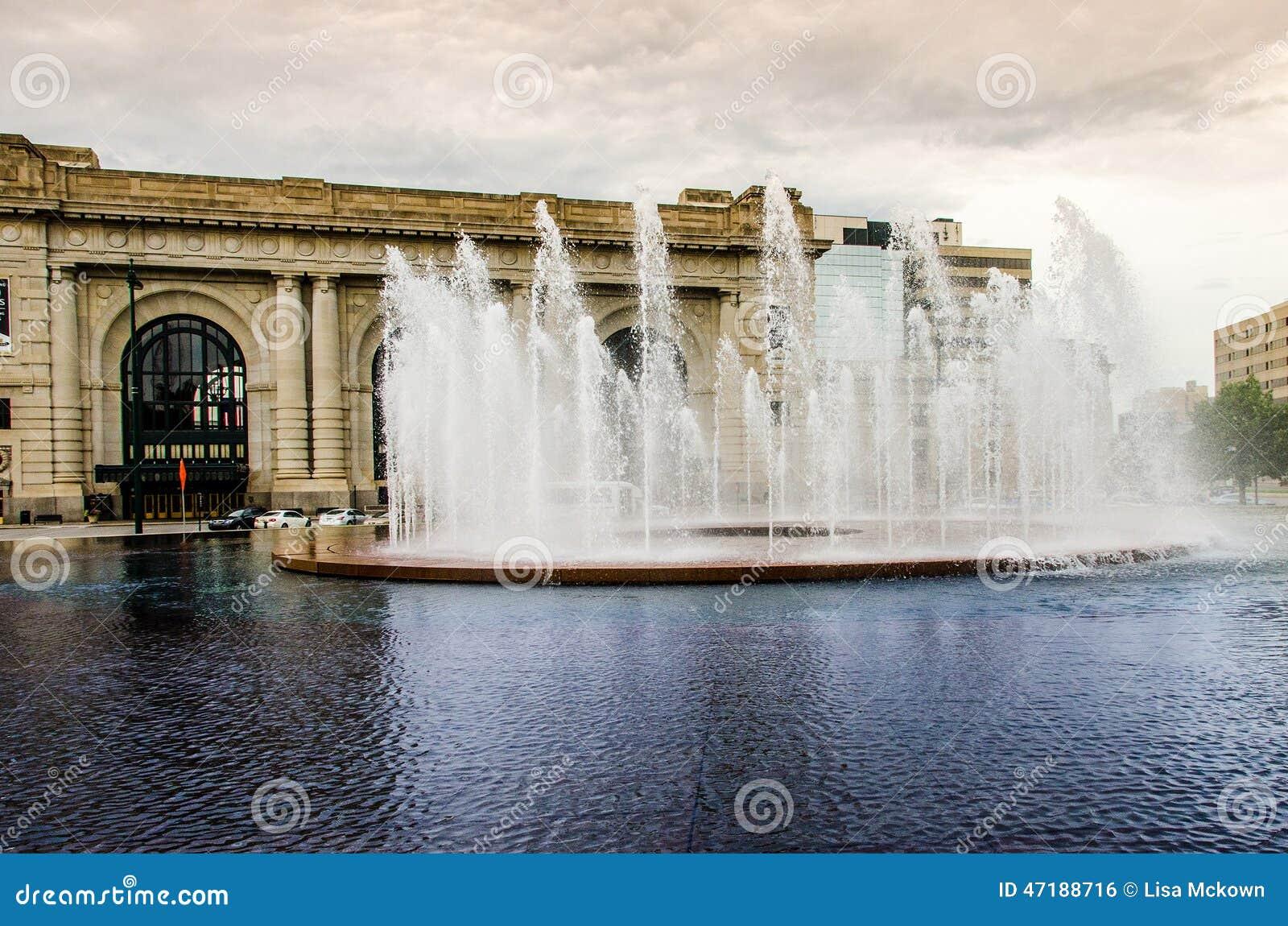 Πηγή νερού πόλεων του Κάνσας