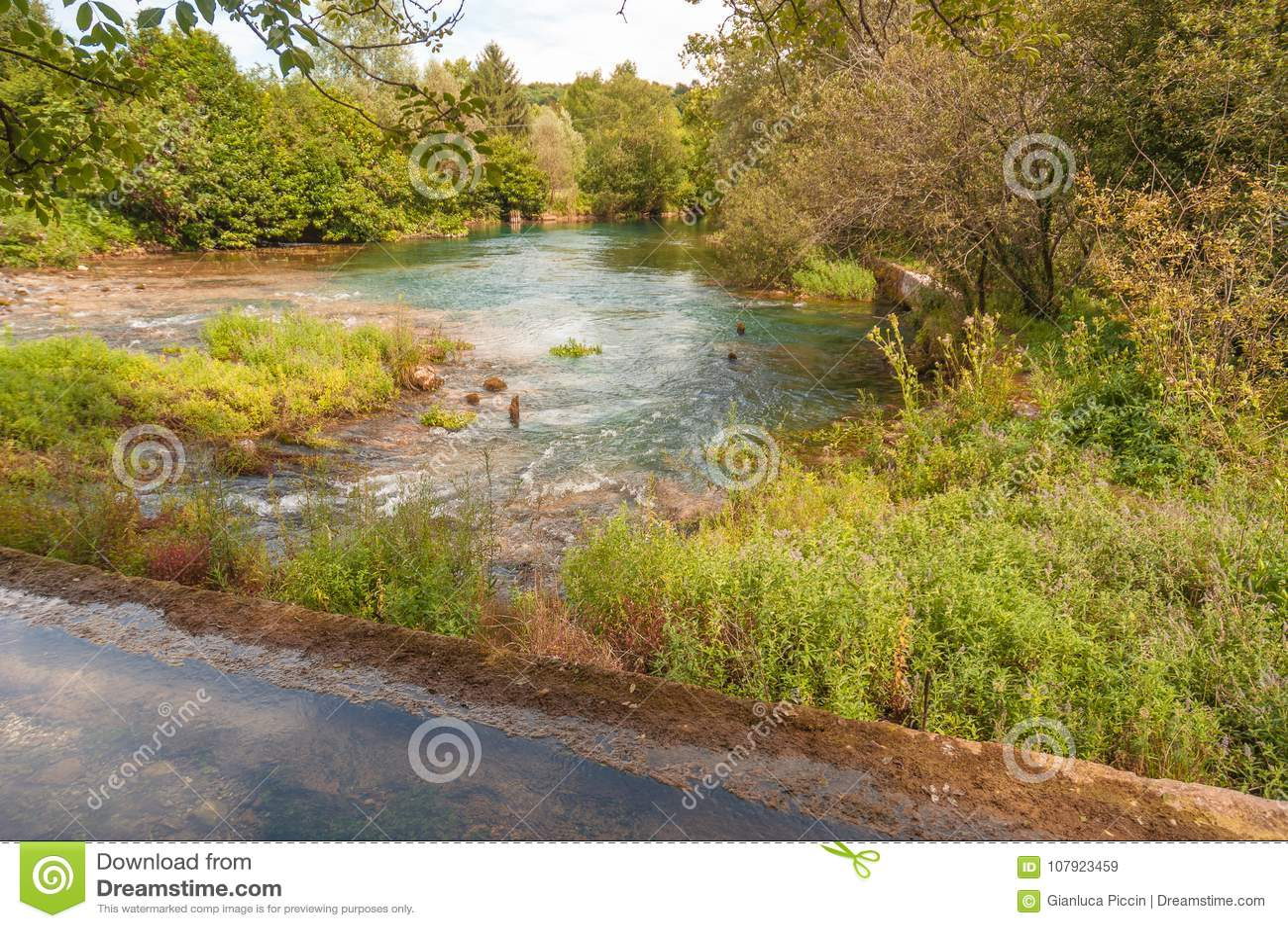 Πηγή ποταμών Livenza, Ιταλία