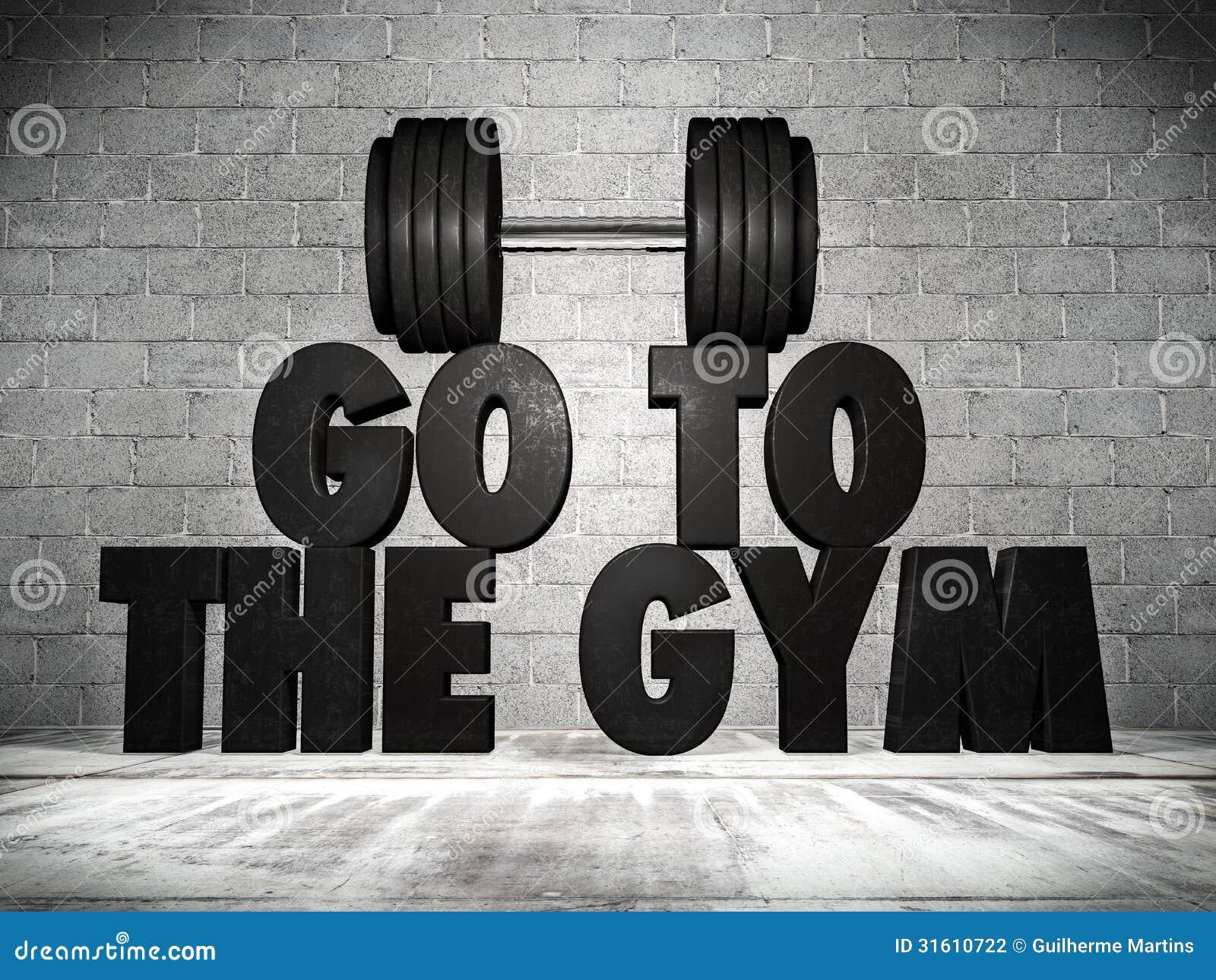 Πηγαίνετε στη γυμναστική