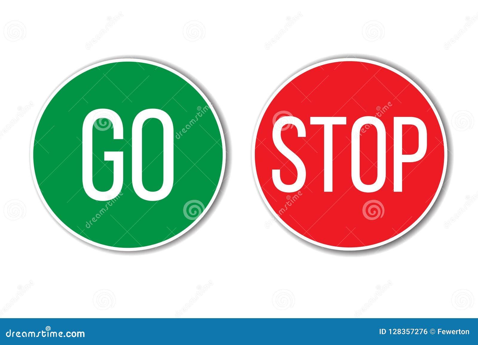 ΠΗΓΑΙΝΕΤΕ και ΣΤΑΜΑΤΗΣΤΕ το κόκκινο πράσινο από τα αριστερά προς τα δεξιά κείμενο λέξης πλήκτρο τα ΟΝ παρόμοια με τα σημάδια κυκλ