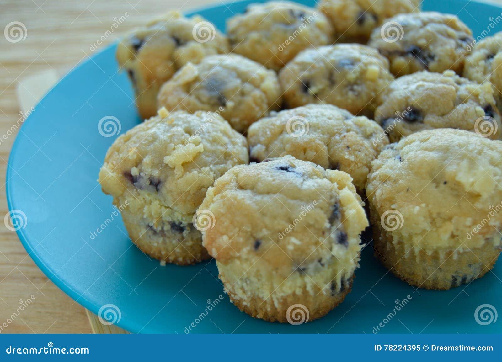 Πιάτο μίνι muffins βακκινίων