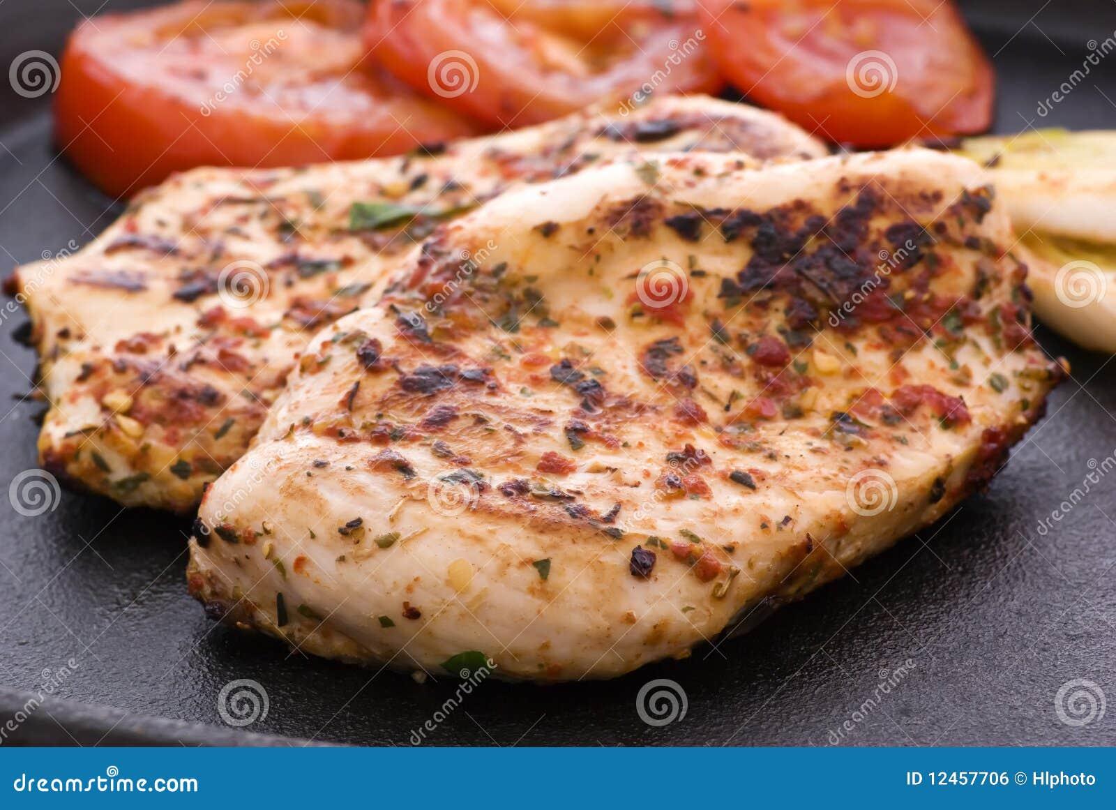 πικάντικη μπριζόλα κοτόπο&upsilo