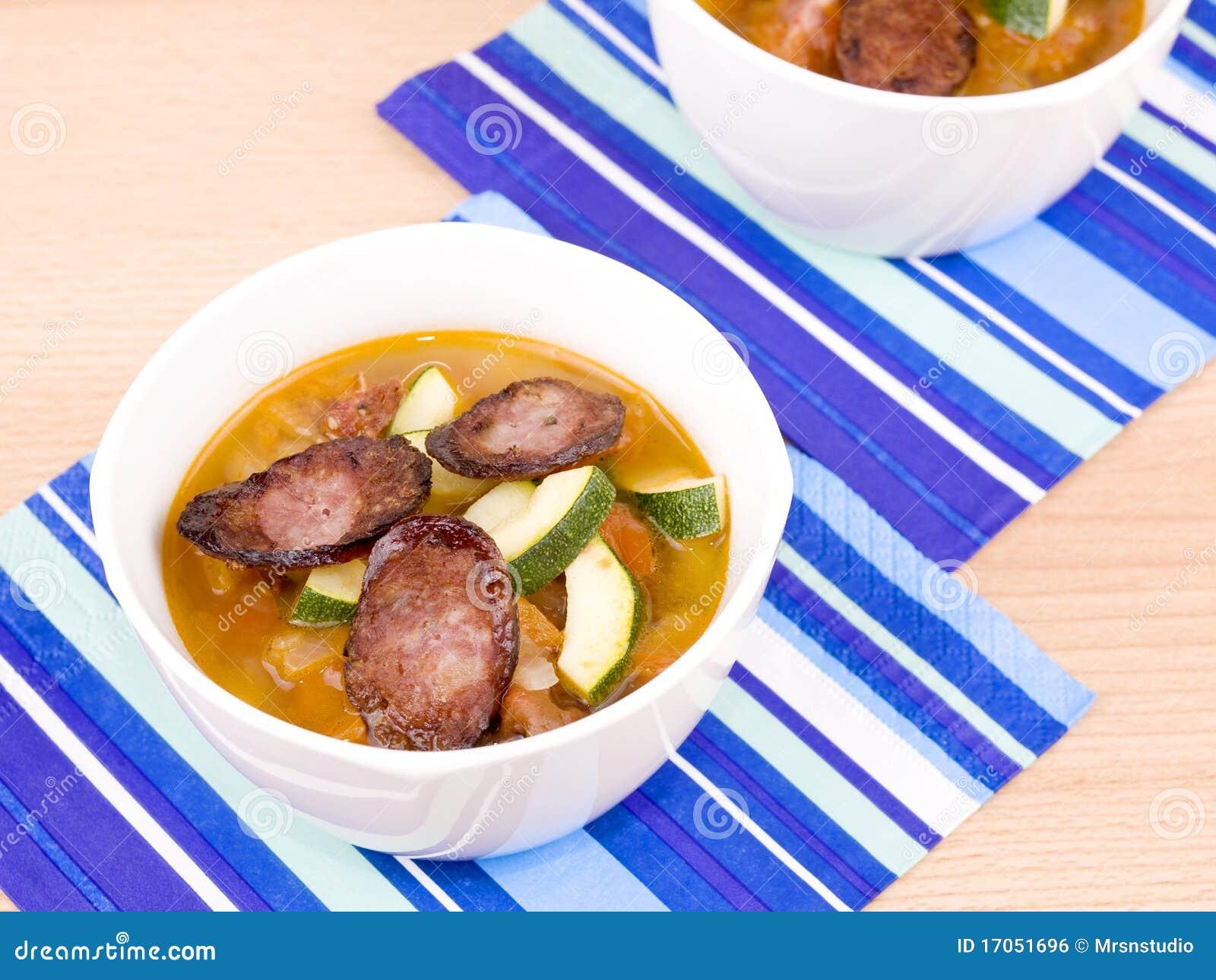 πικάντικος νόστιμος σούπ&alpha