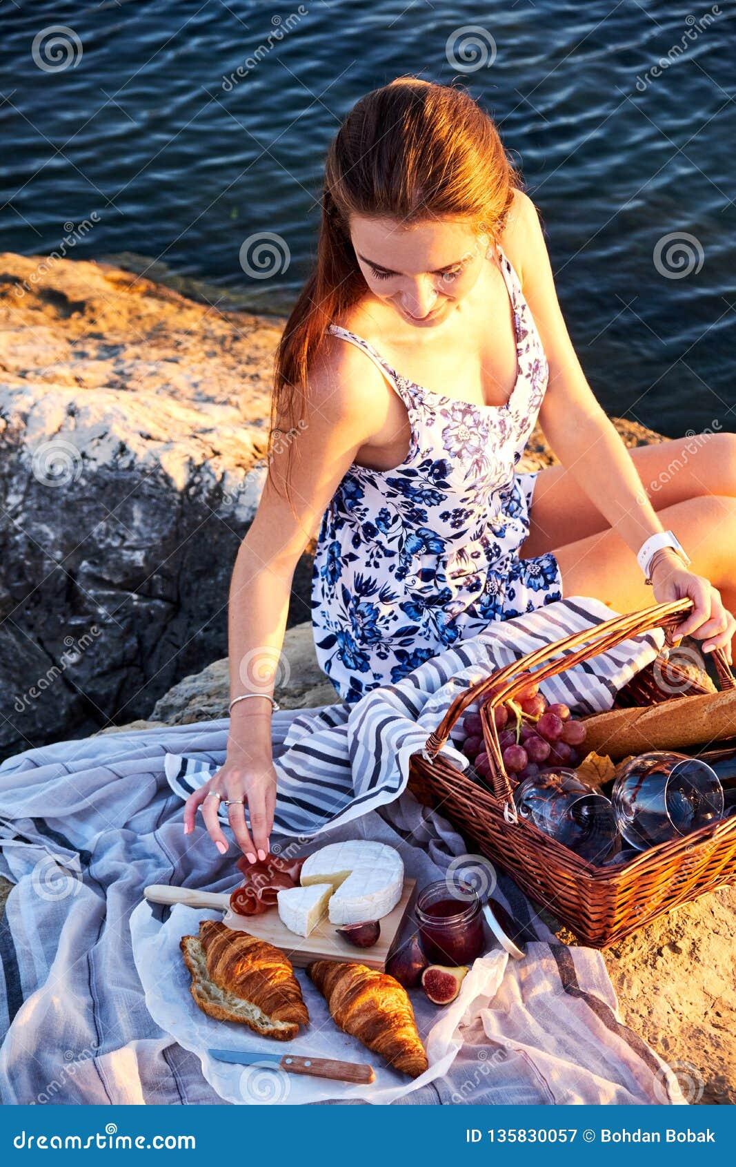 Πικ-νίκ Romatic στην παραλία