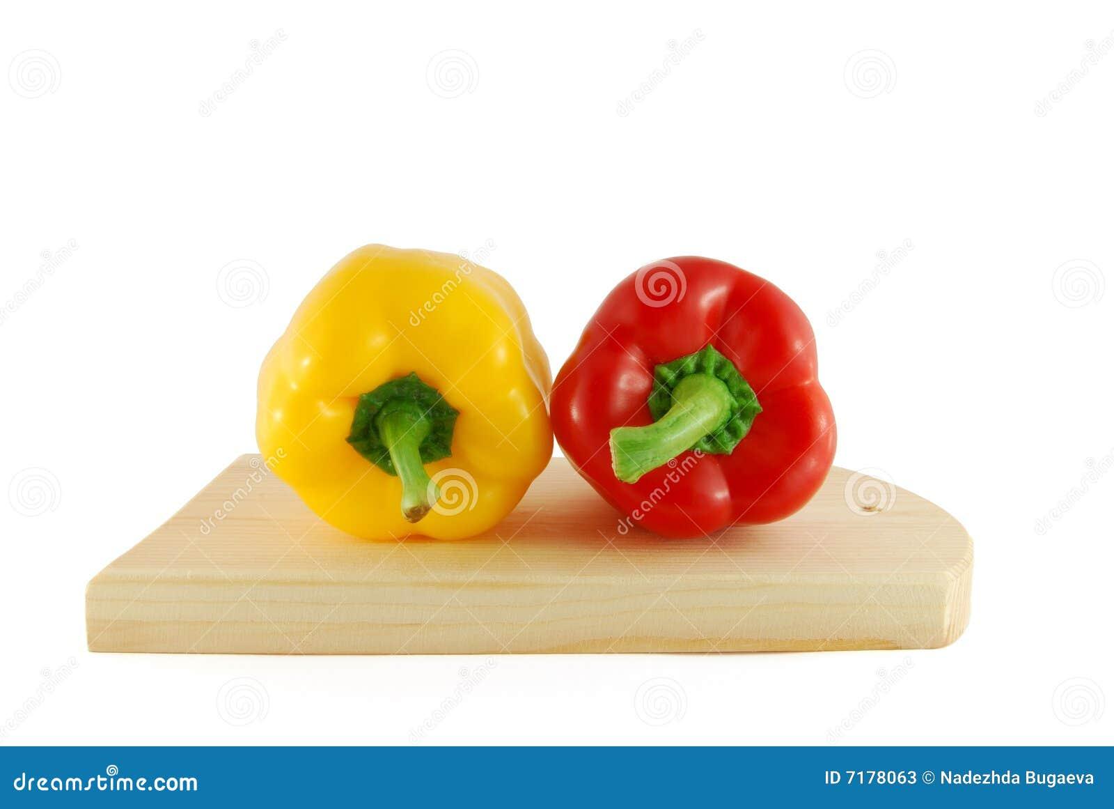 πιπέρια δύο χαρτονιών