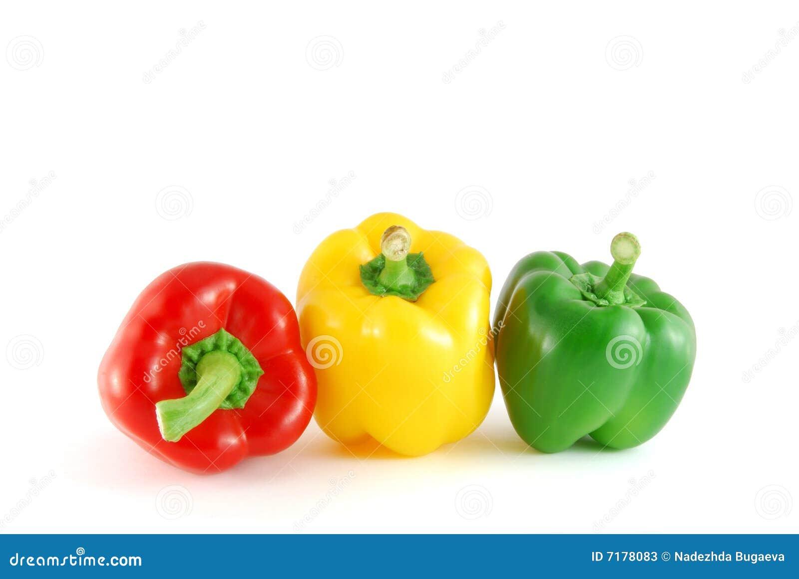 πιπέρια τρία