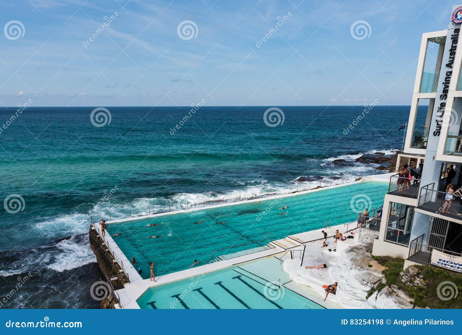 Πισίνα παγόβουνων παραλιών Bondi