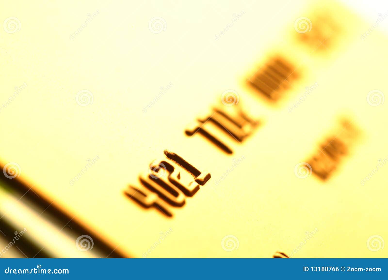 πιστωτικός χρυσός καρτών
