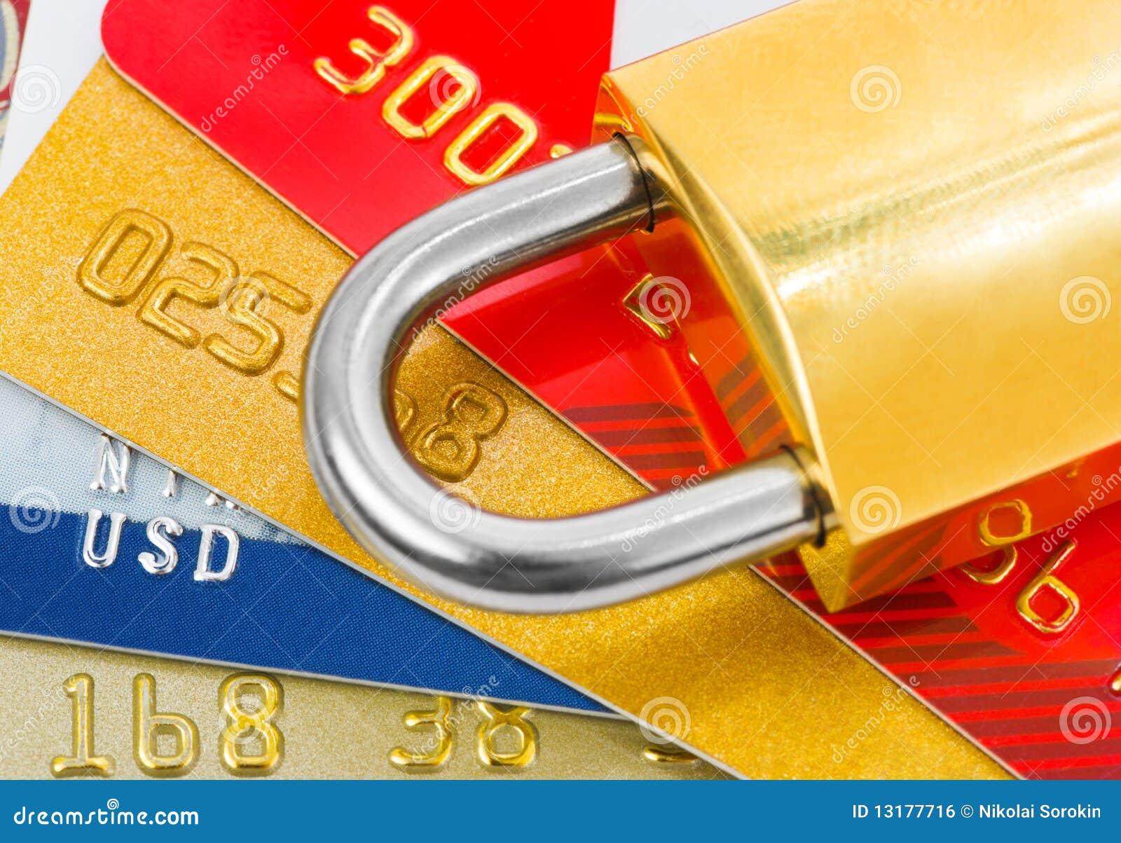 πιστωτικό κλείδωμα καρτών