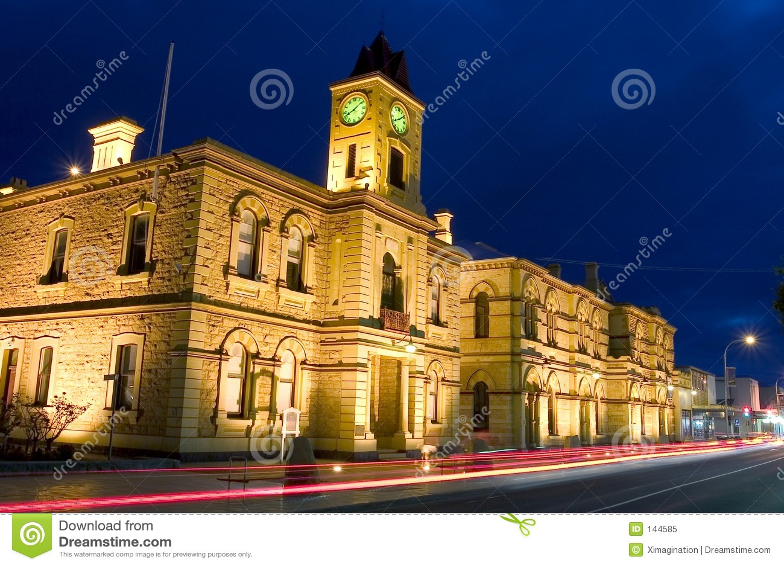 πιό gambier ΑΜ townhall