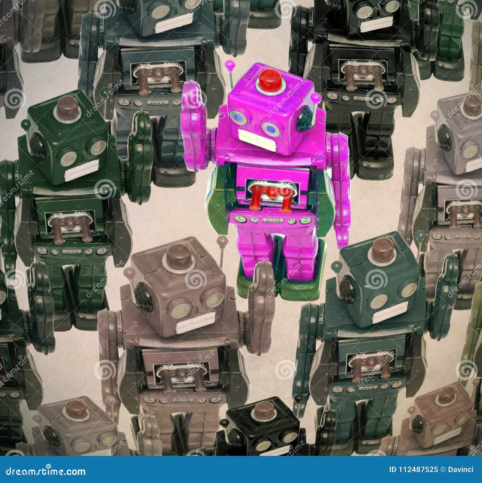 Πλήθος ρομπότ