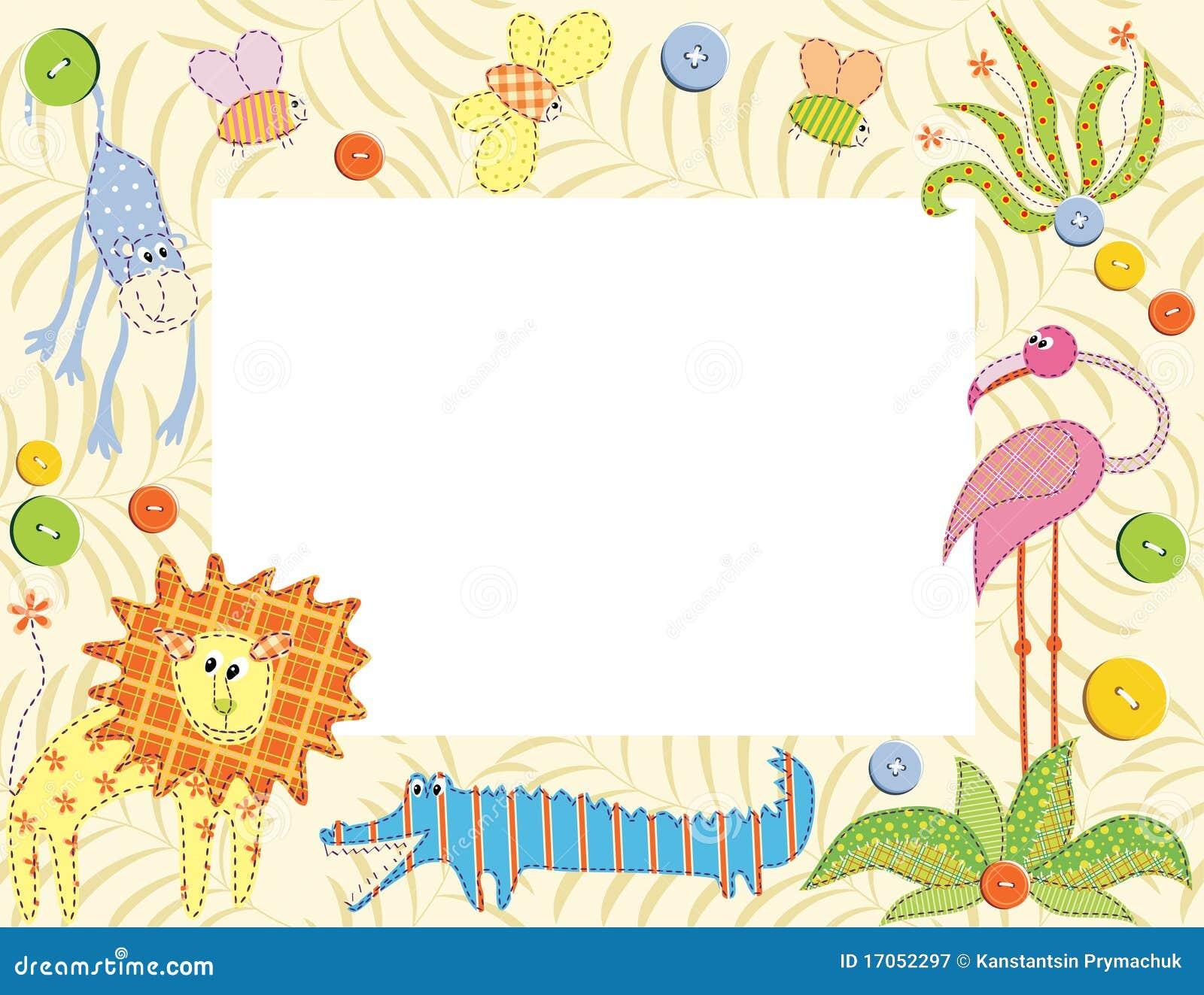 πλαίσιο καρτών ζώων