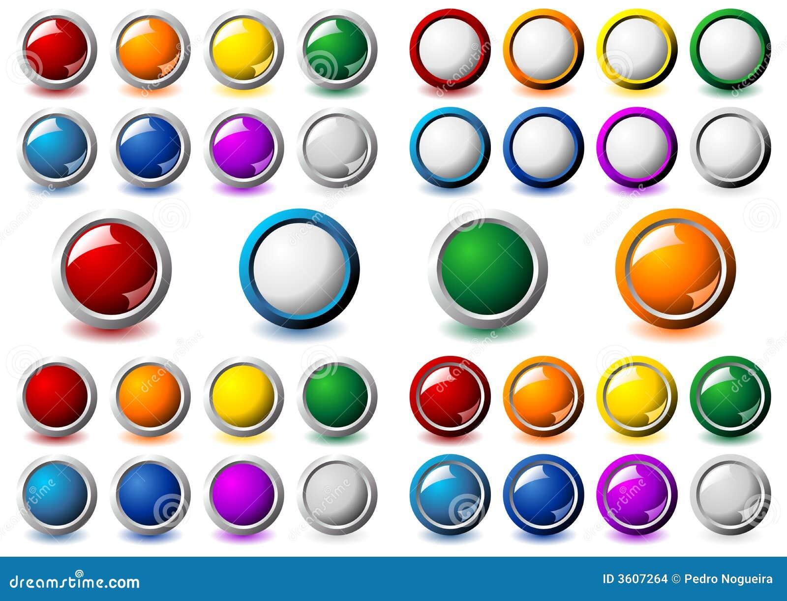 πλαίσιο κουμπιών μεταλλ&