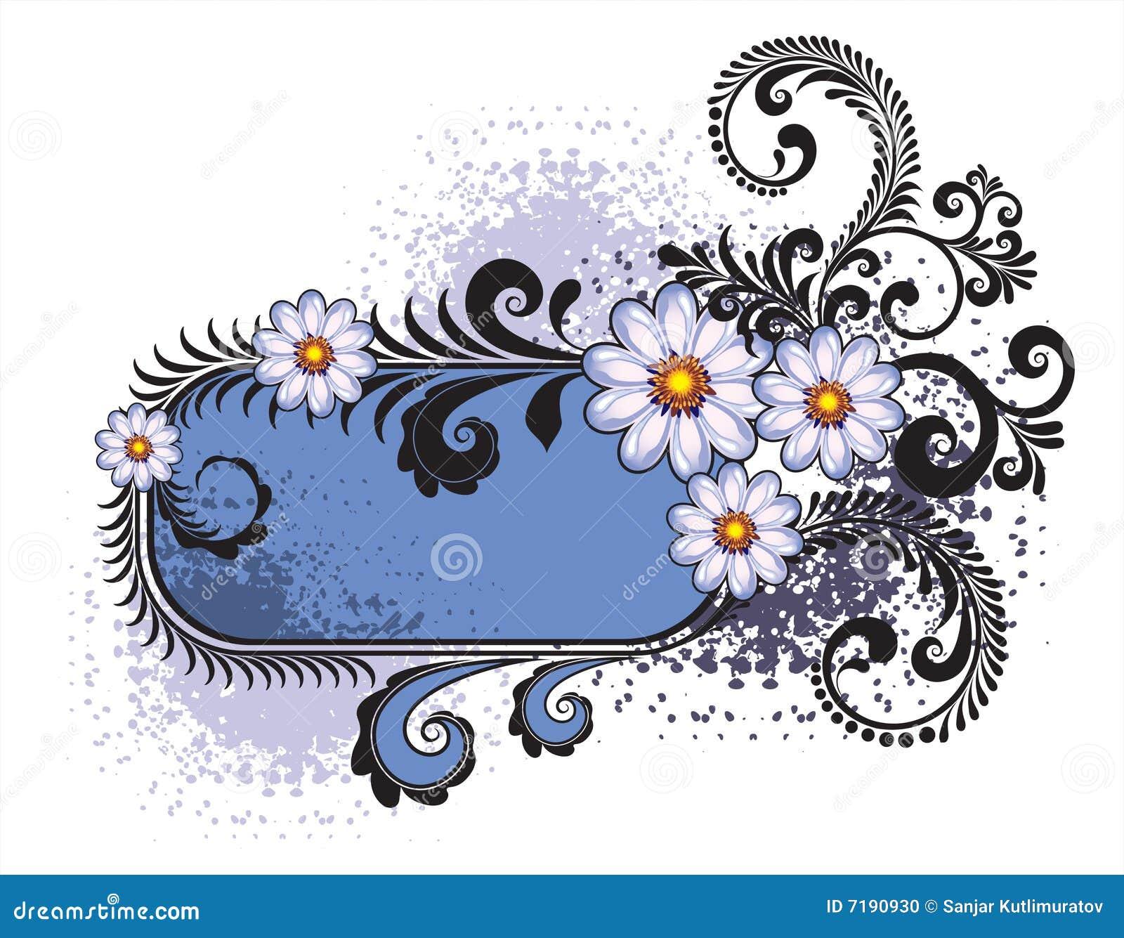 πλαίσιο λουλουδιών