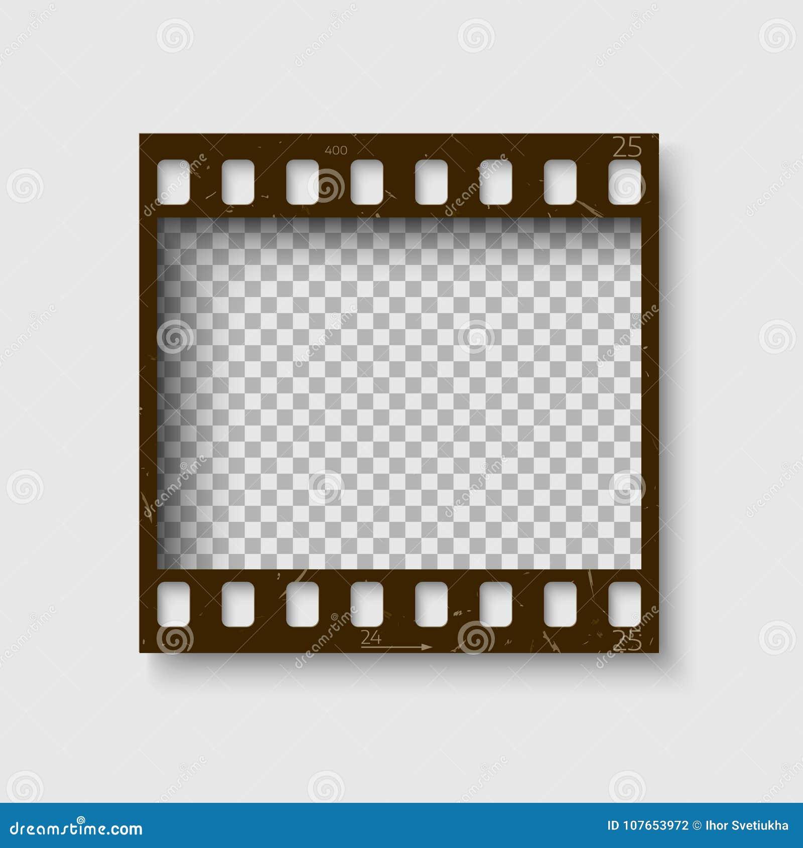 Πλαίσιο 35 χιλ. filmstrip Κενή αρνητική ταινία φωτογραφιών blanck Πρότυπο ρόλων καμερών fot το σχέδιό σας