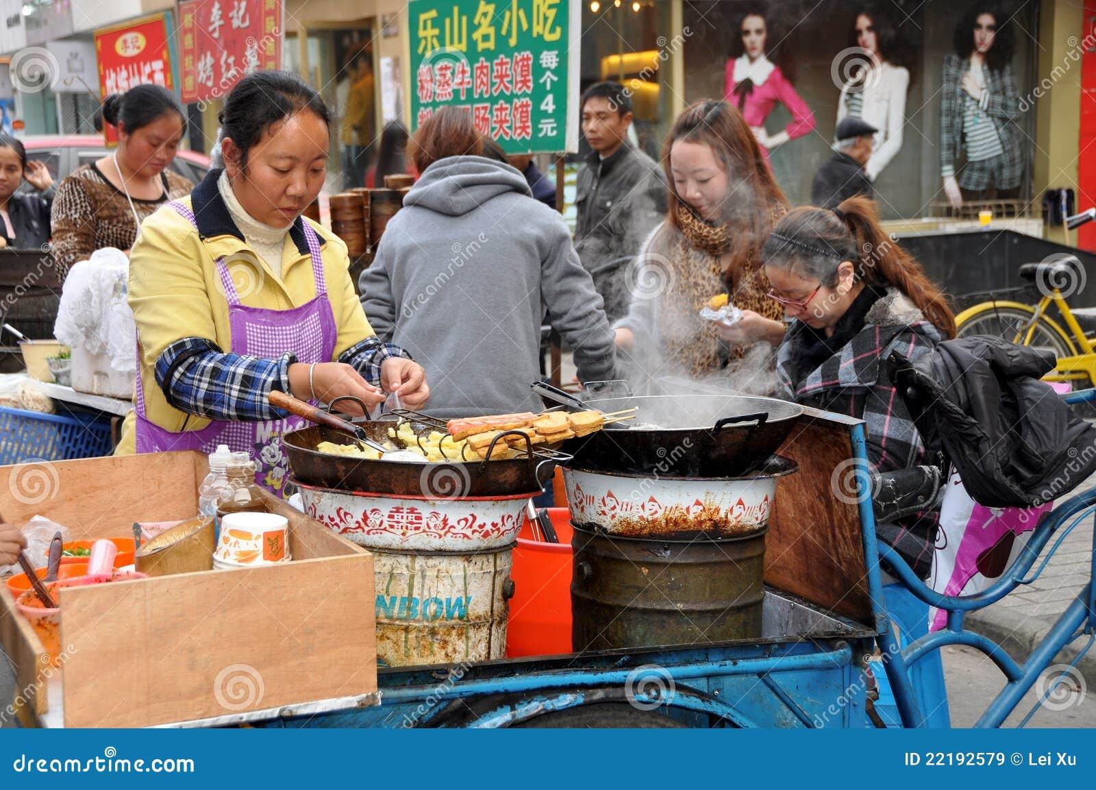 πλανόδιος πωλητής pengzhou τροφί&m
