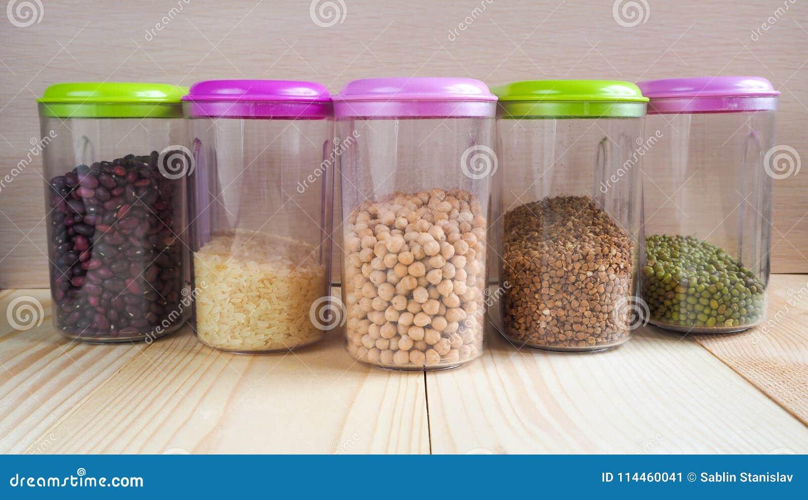 Πλαστικά εμπορευματοκιβώτια με τα δημητριακά Προϊόντα εγχώριας αποθήκευσης