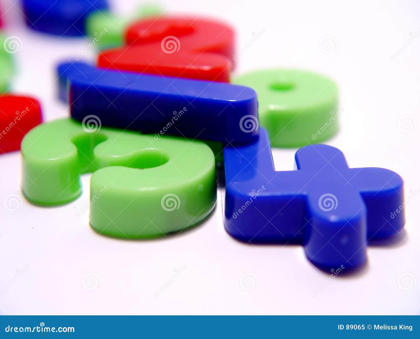 πλαστικό αριθμών