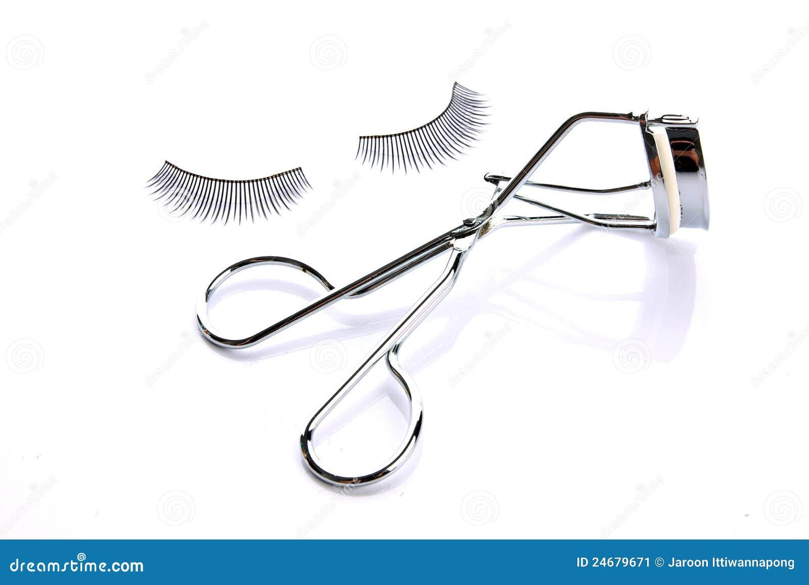 Πλαστό ψεύτικο eyelash με το ρόλερ